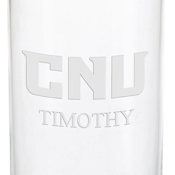 Christopher Newport University Iced Beverage Glasses - Set of 2 - Image 3