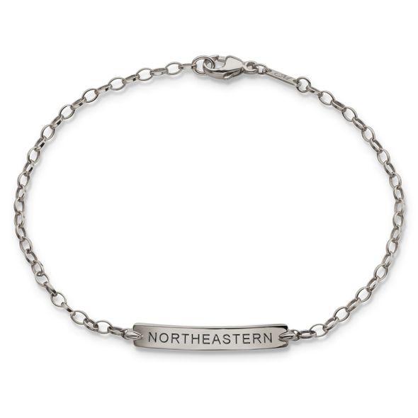 Northeastern Monica Rich Kosann Petite Poesy Bracelet in Silver - Image 1