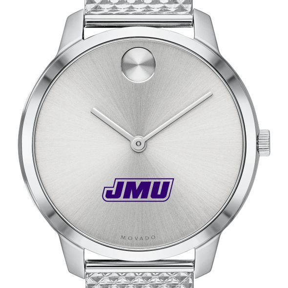 James Madison University Women's Movado Stainless Bold 35