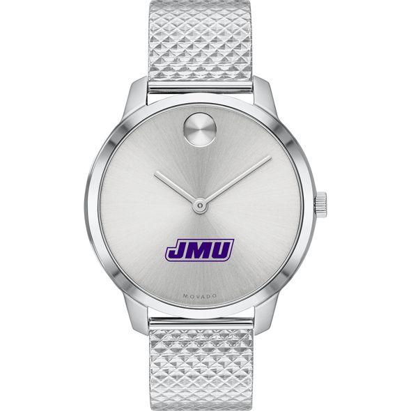 James Madison University Women's Movado Stainless Bold 35 - Image 2