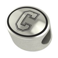College of Charleston Enameled Bead in Black