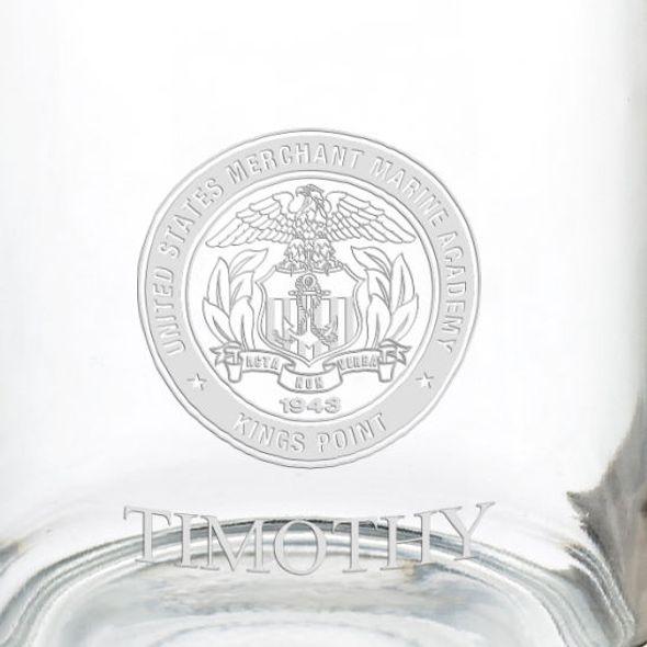 US Merchant Marine Academy 13 oz Glass Coffee Mug - Image 3