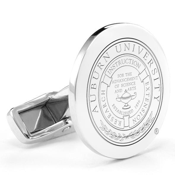 Auburn University Cufflinks in Sterling Silver - Image 2