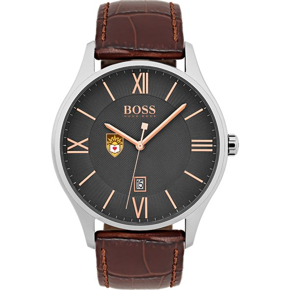 Lehigh University Men's BOSS Classic with Leather Strap from M.LaHart - Image 2