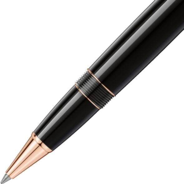 University of Vermont Montblanc Meisterstück LeGrand Rollerball Pen in Red Gold - Image 4
