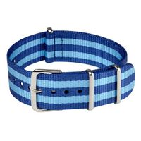 NATO STRAP BLUE & TURQUOISE
