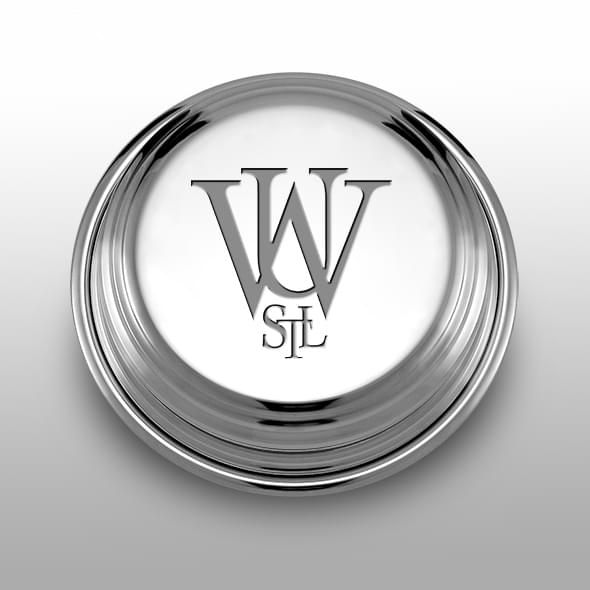 WUSTL Pewter Paperweight
