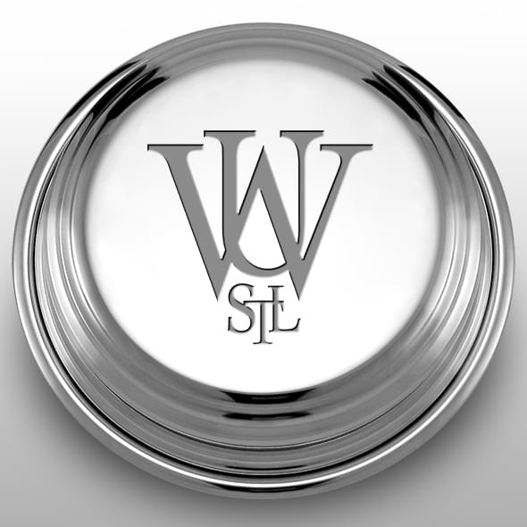 WUSTL Pewter Paperweight - Image 2