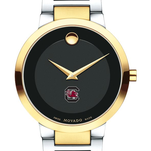 University of South Carolina Men's Movado Two-Tone Modern Classic Museum with Bracelet