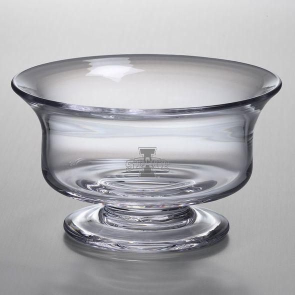 Iowa State University Simon Pearce Glass Revere Bowl Med