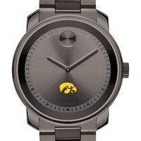 University of Iowa Men's Movado BOLD Gunmetal Grey