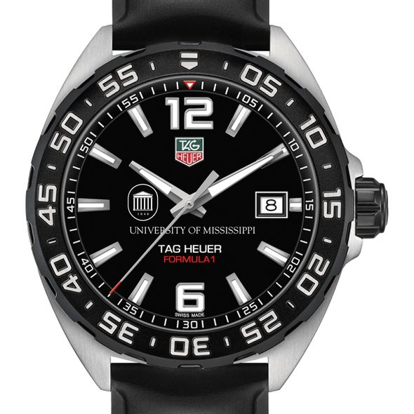 University of Mississippi Men's TAG Heuer Formula 1 with Black Dial