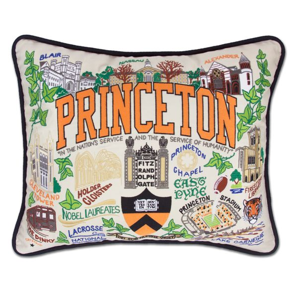 Princeton Embroidered Pillow