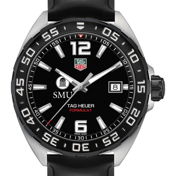 Southern Methodist University Men's TAG Heuer Formula 1 with Black Dial