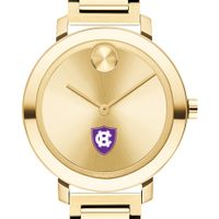 Holy Cross Women's Movado Gold Bold 34