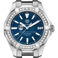 Dartmouth Women's TAG Heuer 35mm Steel Aquaracer with Blue Dial - Image 1