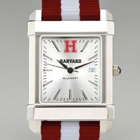 Harvard University Collegiate Watch with NATO Strap for Men