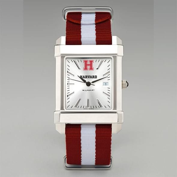 Harvard University Collegiate Watch with NATO Strap for Men - Image 2