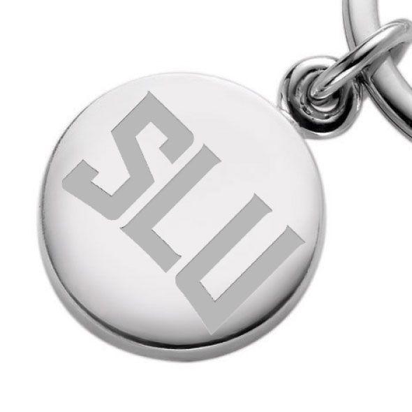Saint Louis University Sterling Silver Insignia Key Ring - Image 2