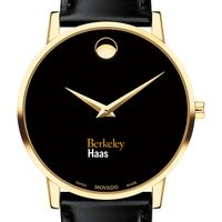 Berkeley Haas Men's Movado Gold Museum Classic Leather