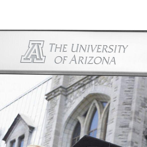 University of Arizona Polished Pewter 8x10 Picture Frame - Image 2