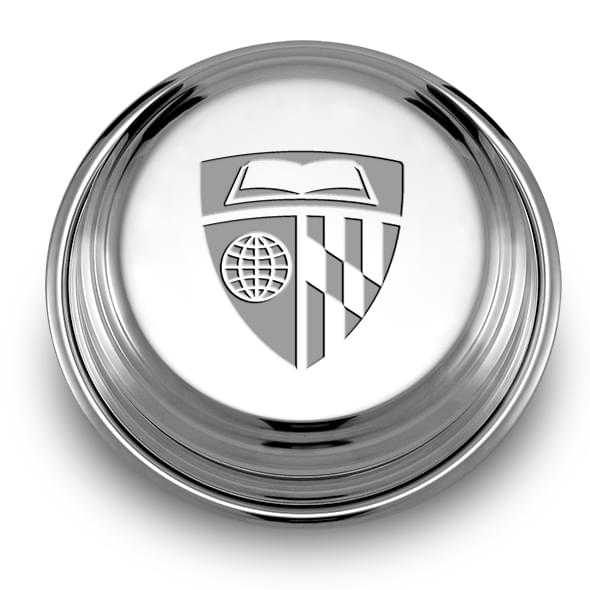 Johns Hopkins Pewter Paperweight