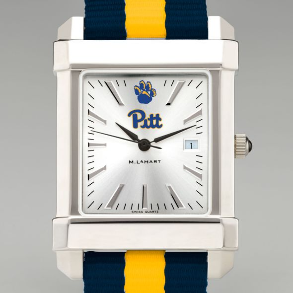 Pitt Collegiate Watch with NATO Strap for Men - Image 1