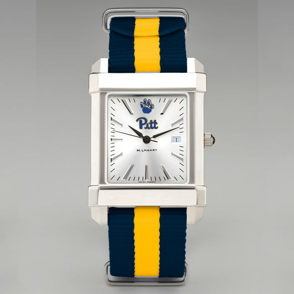 Pitt Collegiate Watch with NATO Strap for Men - Image 2