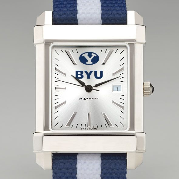 Brigham Young University Collegiate Watch with NATO Strap for Men
