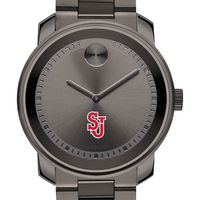 St. John's University Men's Movado BOLD Gunmetal Grey