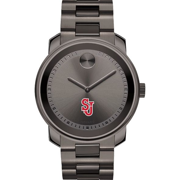 St. John's University Men's Movado BOLD Gunmetal Grey - Image 2