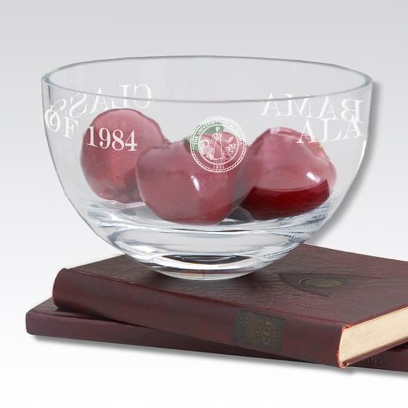 "Alabama 10"" Glass Celebration Bowl - Image 2"