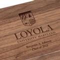 Loyola Solid Walnut Desk Box - Image 2