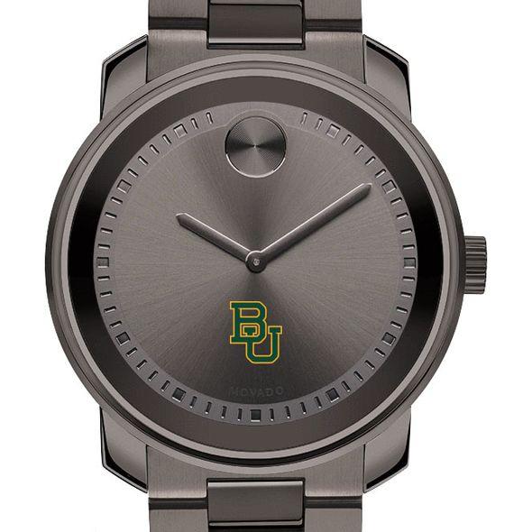 Baylor University Men's Movado BOLD Gunmetal Grey