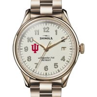 Indiana Shinola Watch, The Vinton 38mm Ivory Dial