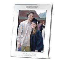 Chicago Booth Polished Pewter 5x7 Picture Frame