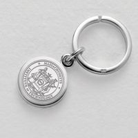 MIT Sterling Silver Insignia Key Ring