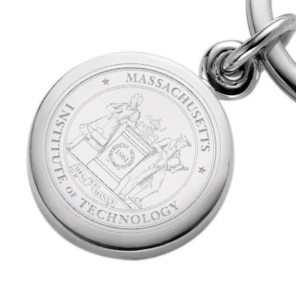 MIT Sterling Silver Insignia Key Ring - Image 2