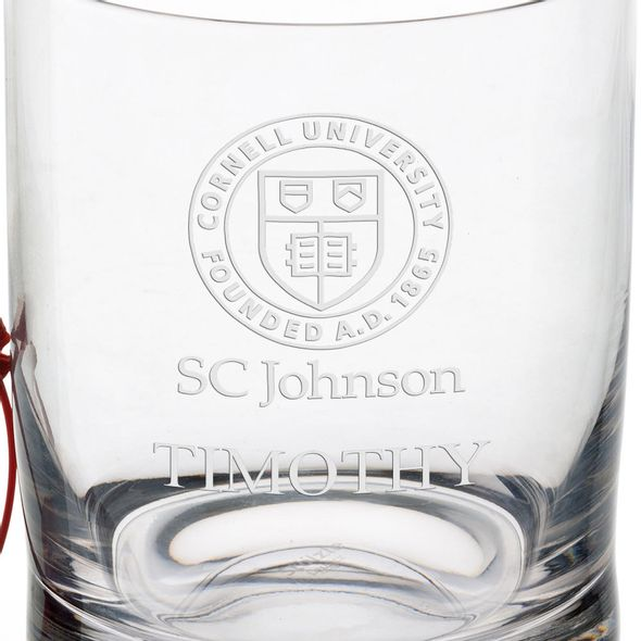 SC Johnson College Tumbler Glasses - Set of 2 - Image 3