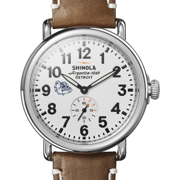 Gonzaga Shinola Watch, The Runwell 41mm White Dial