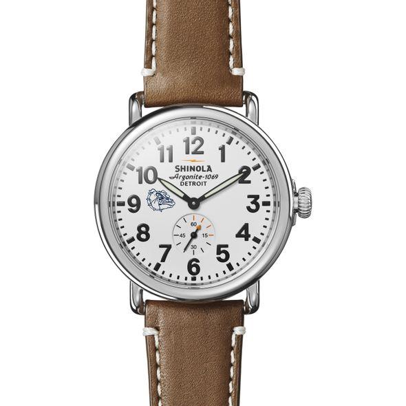 Gonzaga Shinola Watch, The Runwell 41mm White Dial - Image 2