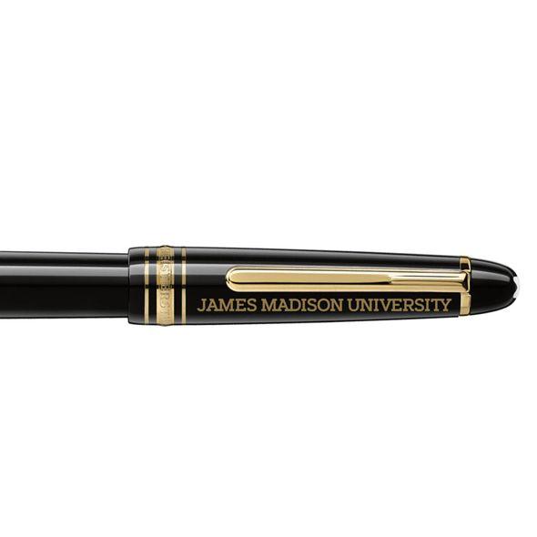 James Madison University Montblanc Meisterstück 149 Fountain Pen in Gold - Image 2