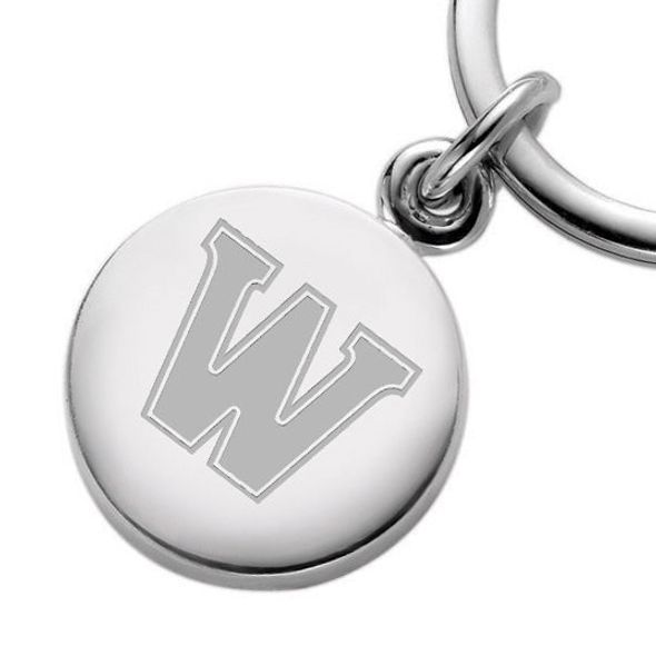 Williams College Sterling Silver Insignia Key Ring - Image 2