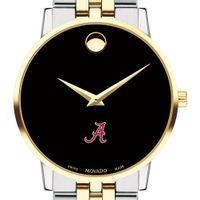 Alabama Men's Movado Two-Tone Museum Classic Bracelet