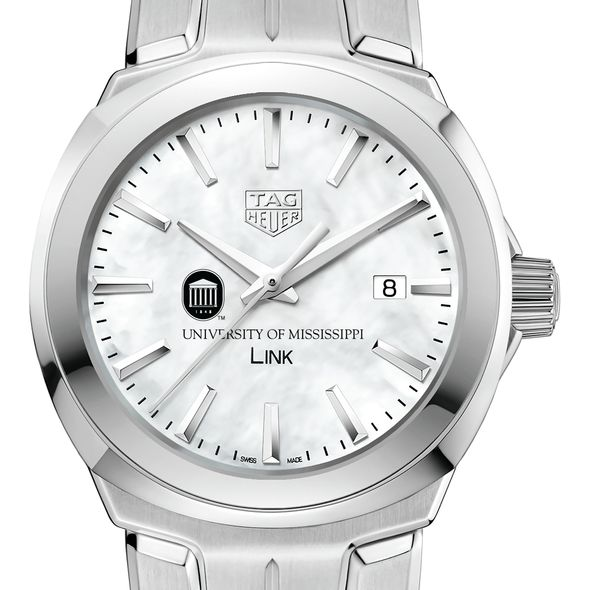 University of Mississippi TAG Heuer LINK for Women