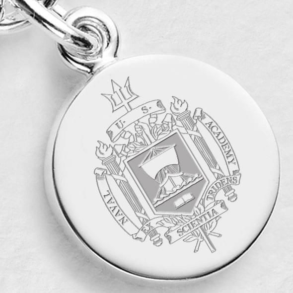 Navy Sterling Silver Charm - Image 2