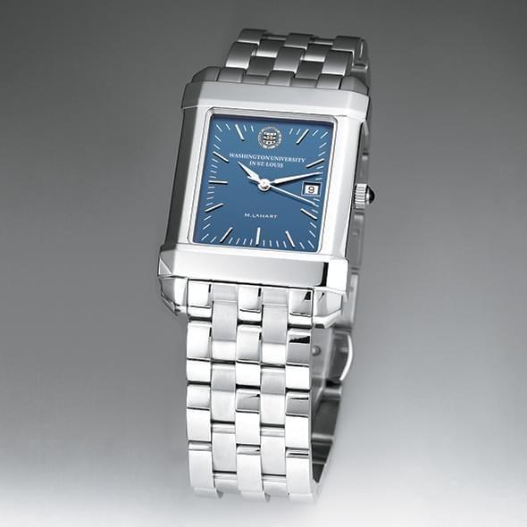 WUSTL Men's Blue Quad Watch with Bracelet - Image 2
