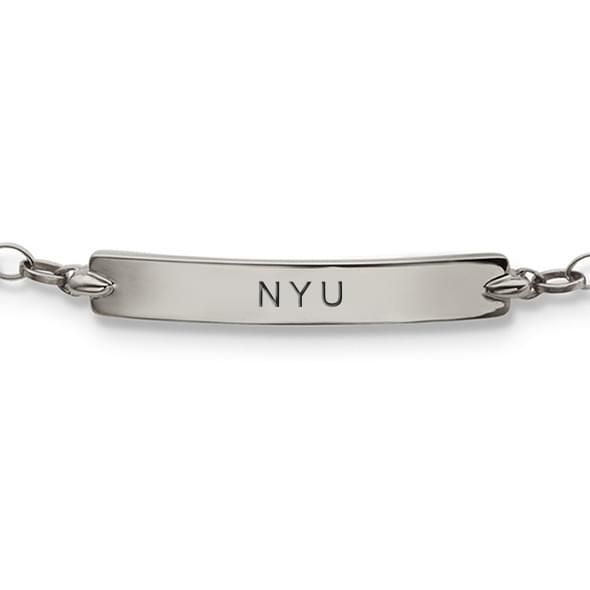NYU Monica Rich Kosann Petite Poesy Bracelet in Silver - Image 2