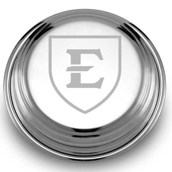 East Tennessee State University Pewter Paperweight - Image 2