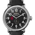 Indiana Shinola Watch, The Runwell 47mm Black Dial - Image 1